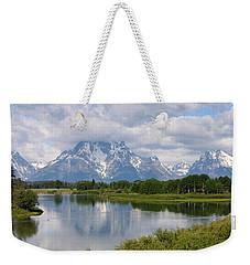 Snow In July Weekender Tote Bag