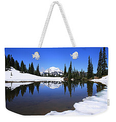Snow In July Weekender Tote Bag