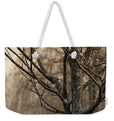 Snow In The Air - Weekender Tote Bag