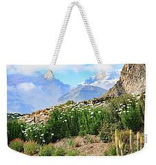 Snow In The Desert Weekender Tote Bag