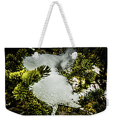 Snow In The Trees Weekender Tote Bag by Bill Howard