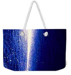 Snow Lightning Weekender Tote Bag