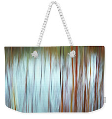 Snow Melt In The Wetlands Weekender Tote Bag
