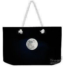Snow Moon 4 Weekender Tote Bag by Janie Johnson