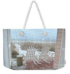 Snow On The Beach 4 Weekender Tote Bag
