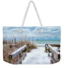 Snow On The Beach 9 Weekender Tote Bag