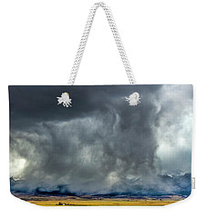 Snow On The Rockies Weekender Tote Bag