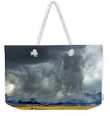 Snow On The Rockies Weekender Tote Bag