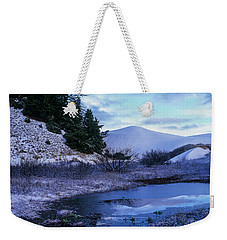 Snow On The Sand Weekender Tote Bag