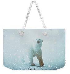 Snow Patrol Weekender Tote Bag by Katherine Smit