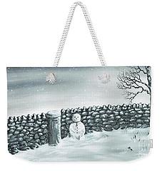Snow Patrol Weekender Tote Bag by Kenneth Clarke
