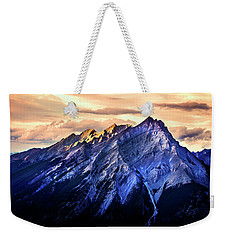 Weekender Tote Bag featuring the photograph Mount Cascade by John Poon