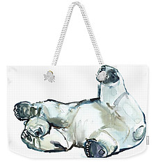 Snow Rub Weekender Tote Bag