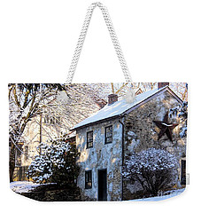 Snow Shanty In West Chester, Pennsylvania Weekender Tote Bag