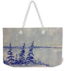 Snow Sqaull  Weekender Tote Bag