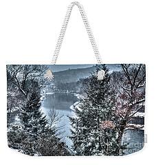 Snow Squall Weekender Tote Bag