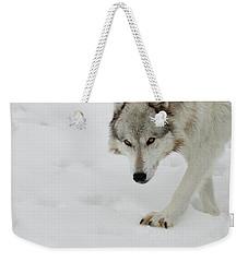 Snow Tracker Weekender Tote Bag by Steve McKinzie