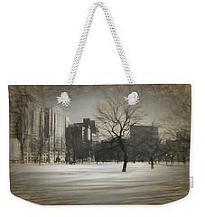 Snow Tree Weekender Tote Bag