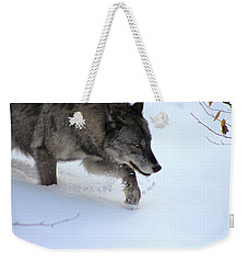 Snow Walker Weekender Tote Bag