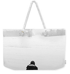 Weekender Tote Bag featuring the photograph Snow Wonder by Brian Jones