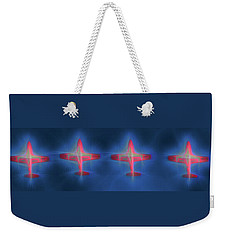 Snowbird Formation 2 Weekender Tote Bag