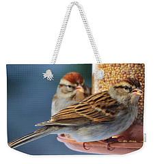 Snowbirds Weekender Tote Bag