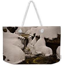 Snowcone Stream Weekender Tote Bag