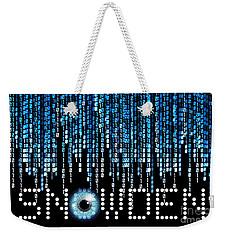 Snowden Weekender Tote Bag
