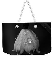 Weekender Tote Bag featuring the photograph Snowdrop by Keith Elliott