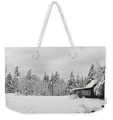 Snowed In Weekender Tote Bag