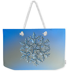 Snowflake Photo - Gardener's Dream Weekender Tote Bag by Alexey Kljatov