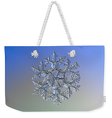 Snowflake Photo - Gardener's Dream Alternate Weekender Tote Bag by Alexey Kljatov
