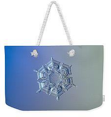 Snowflake Photo - Ice Relief Weekender Tote Bag