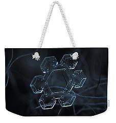 Snowflake Photo - Jewel Weekender Tote Bag