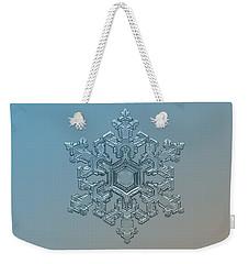 Snowflake Photo - Ornate Pattern Weekender Tote Bag