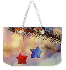 Snowstars Weekender Tote Bag
