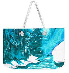 Snowy Creek Banks Weekender Tote Bag by Seth Weaver