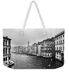 Snowy Day In Venice Weekender Tote Bag
