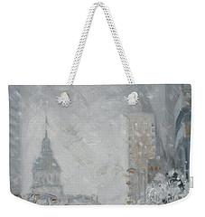 Snowy Day - Market Street Saint Louis Weekender Tote Bag