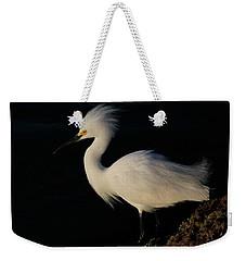 Snowy Egret, Florida Weekender Tote Bag