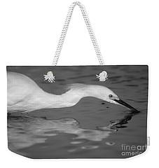 Snowy Egret Illuminated Weekender Tote Bag