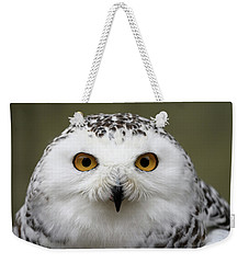 Snowy Eyes Weekender Tote Bag