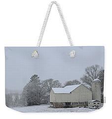 Winter White Farm Weekender Tote Bag