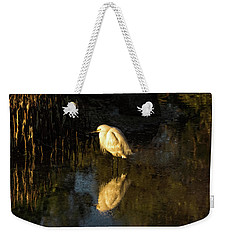 Snowy Kissed By Last Light Weekender Tote Bag