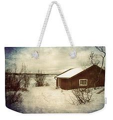Snowy Landscape Weekender Tote Bag