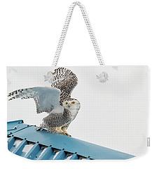 Snowy Model Ambition Weekender Tote Bag