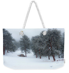 Snowy Morning - 0622 Weekender Tote Bag