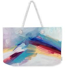 Snowy Mountain Weekender Tote Bag