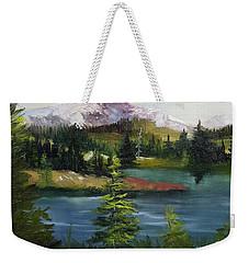 Snowy Range Weekender Tote Bag