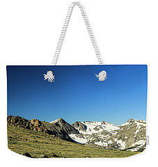 Snowy Top Weekender Tote Bag